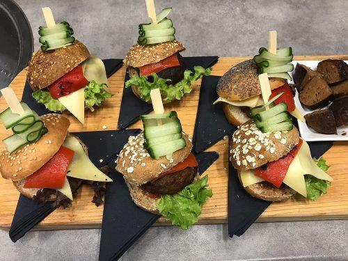 Tres Bien hamburger